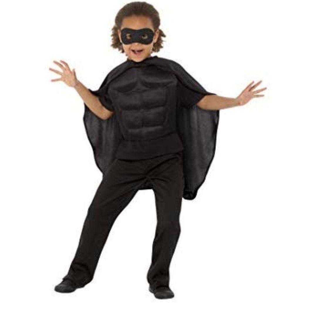 TALLA S-M - Smiffys 41167ML - Kit de superhéroe para niños, unisex