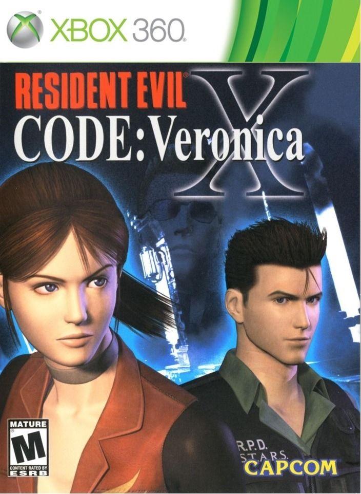 Resident evil code Verónica X HD Xbox