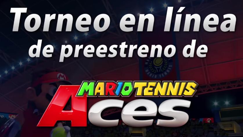 NINTENDO SWITCH: Mario Tennis Aces (01 de Junio torneo en linea de preestreno)