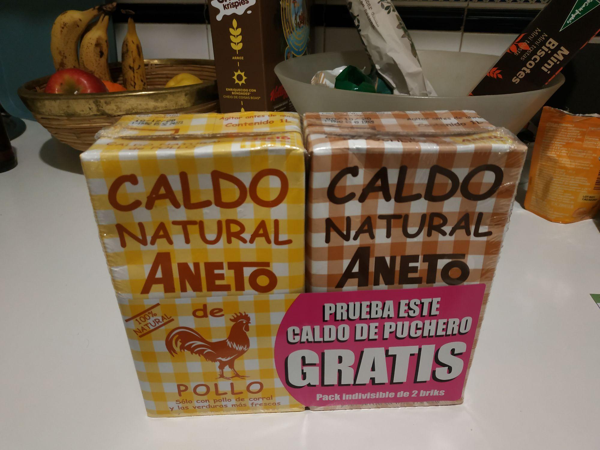 Pack Caldo Aneto supermercados Supersol