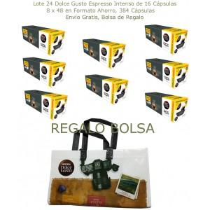 Pack 24 Paquetes Dolce Gusto Esp.Intenso + Bolsa de regalo