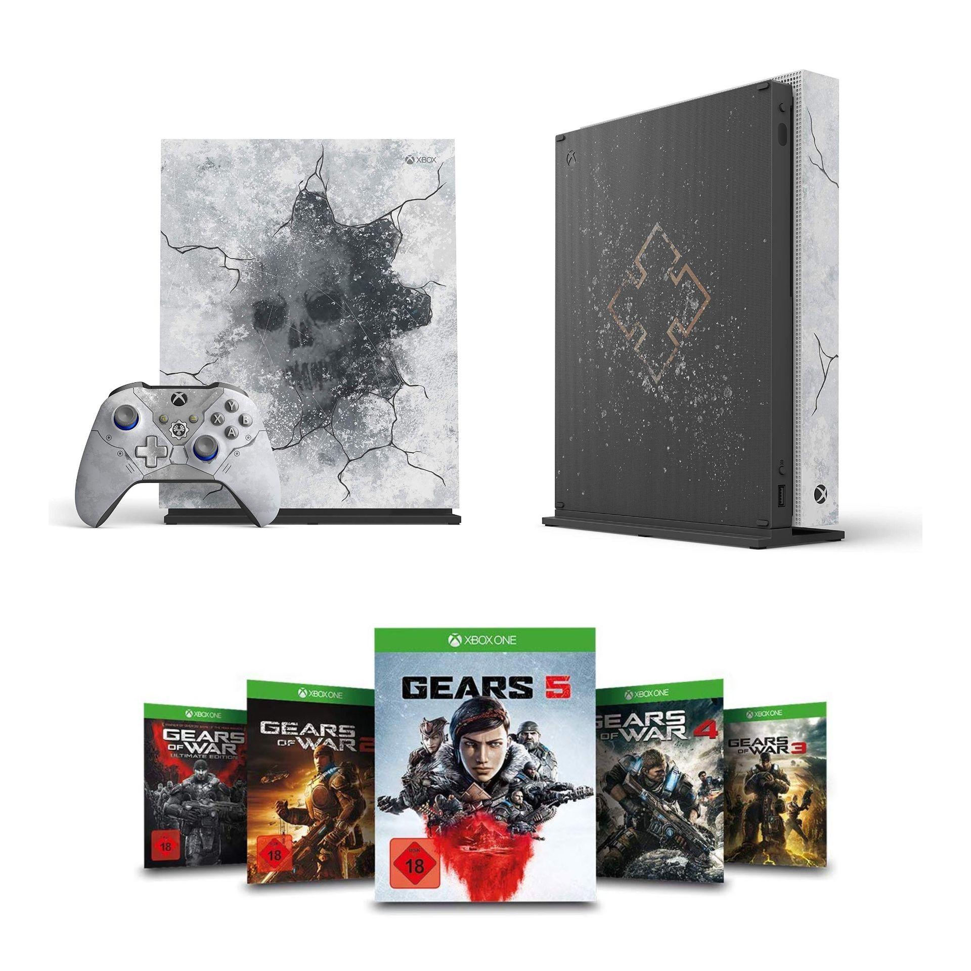Xbox One X Edición limitada GOW5