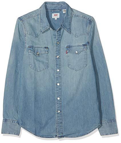 Levi's Barstow Western Camisa para Hombre talla XXS.