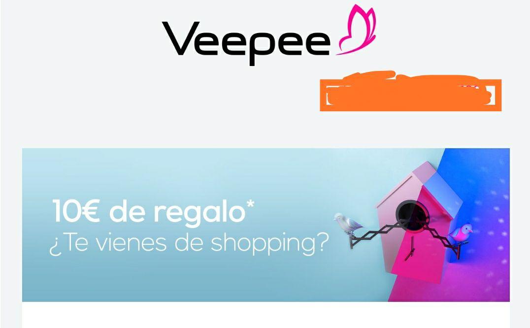 Descuento de 10€ por compras superiores a 40€ en Veepee