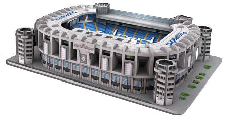 REAL MADRID - Puzzle 3D Estadio Santiago Bernabéu