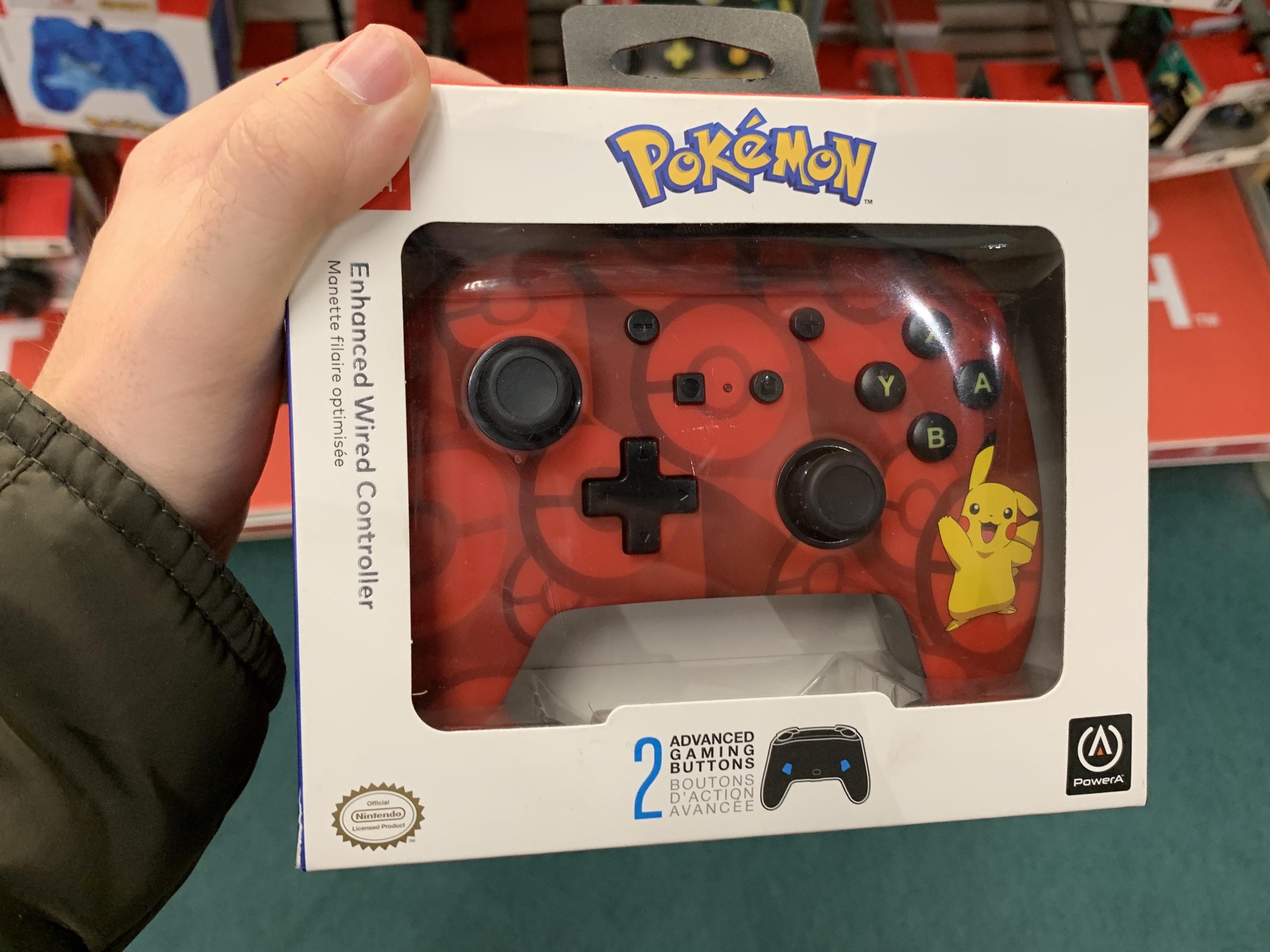 Mando Pokémon (con cable) Nintendo Switch (Fnac Murcia)