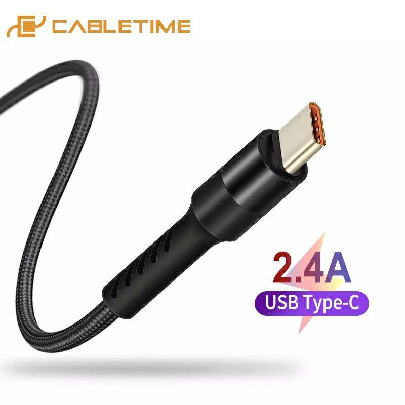 Cable USB tipo C de 1 metro por 0,92€