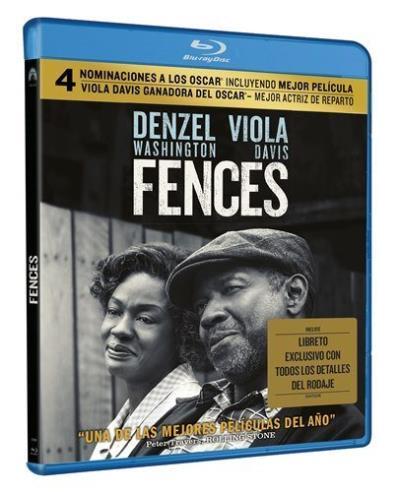 Fences bluray por 5€ (100 unidades)