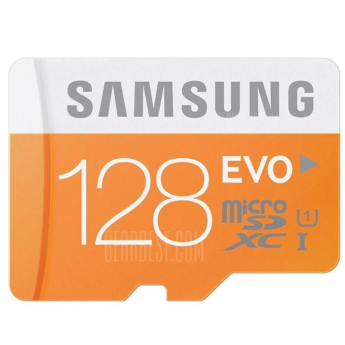 Tarjeta de memoria Samsung Micro SDXC 128GB EVO Class 10