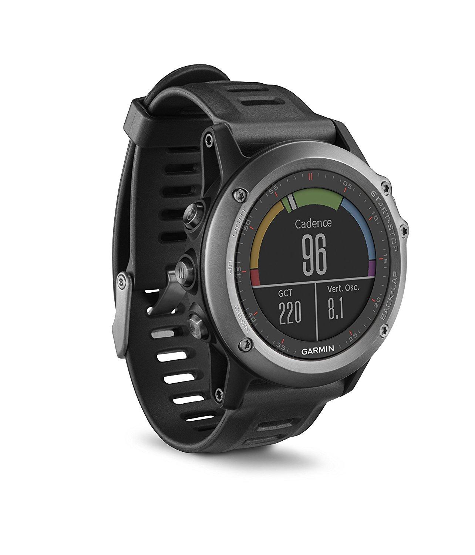 Garmin Fénix 3 - Reloj multideporte GPS, NO INCLUYE sensor de frecuencia cardiaca