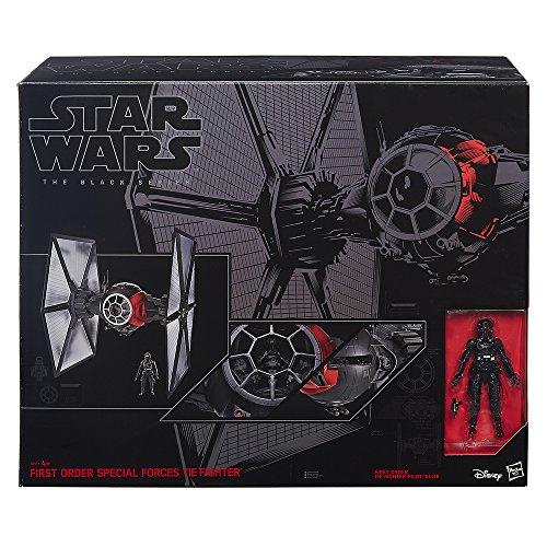 "Star Wars Black Series Tie Fighter 6"" (El extra grande)"
