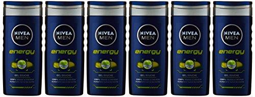 Pack de 6 Geles Nivea Energy por 2,21€ y pack de 4 Deep por 2,42€