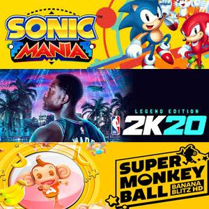 XBOX :: Juega gratis Sonic Mania, Super Monkey Ball y NBA 2K20