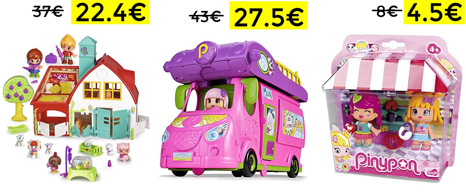 Preciazos en selección juguetes Pinypon