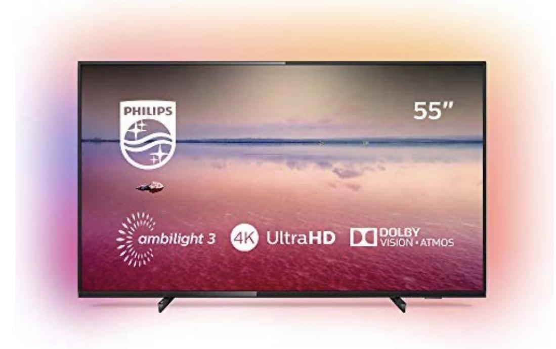Philips 55PUS6704/12 - Smart TV LED 4K UHD, 55 pulgadas