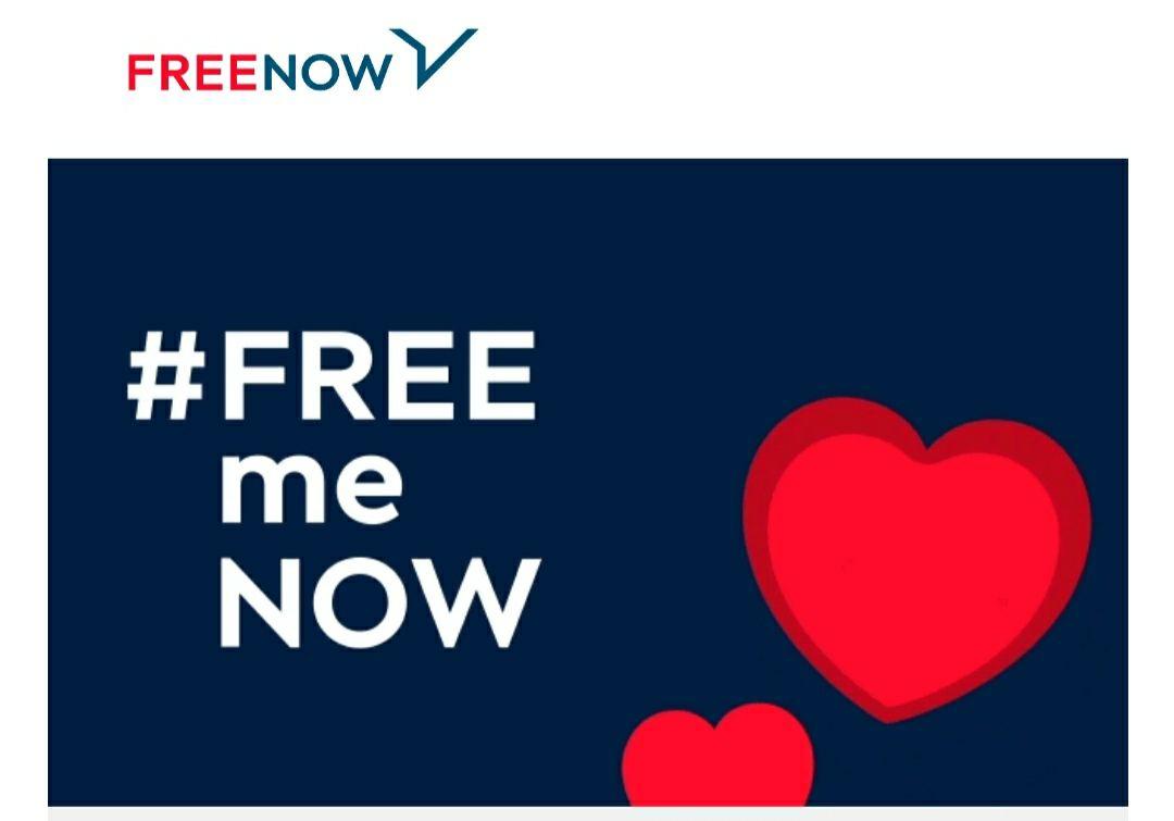 10 € de descuento gratis en Free Now (leer descripción)