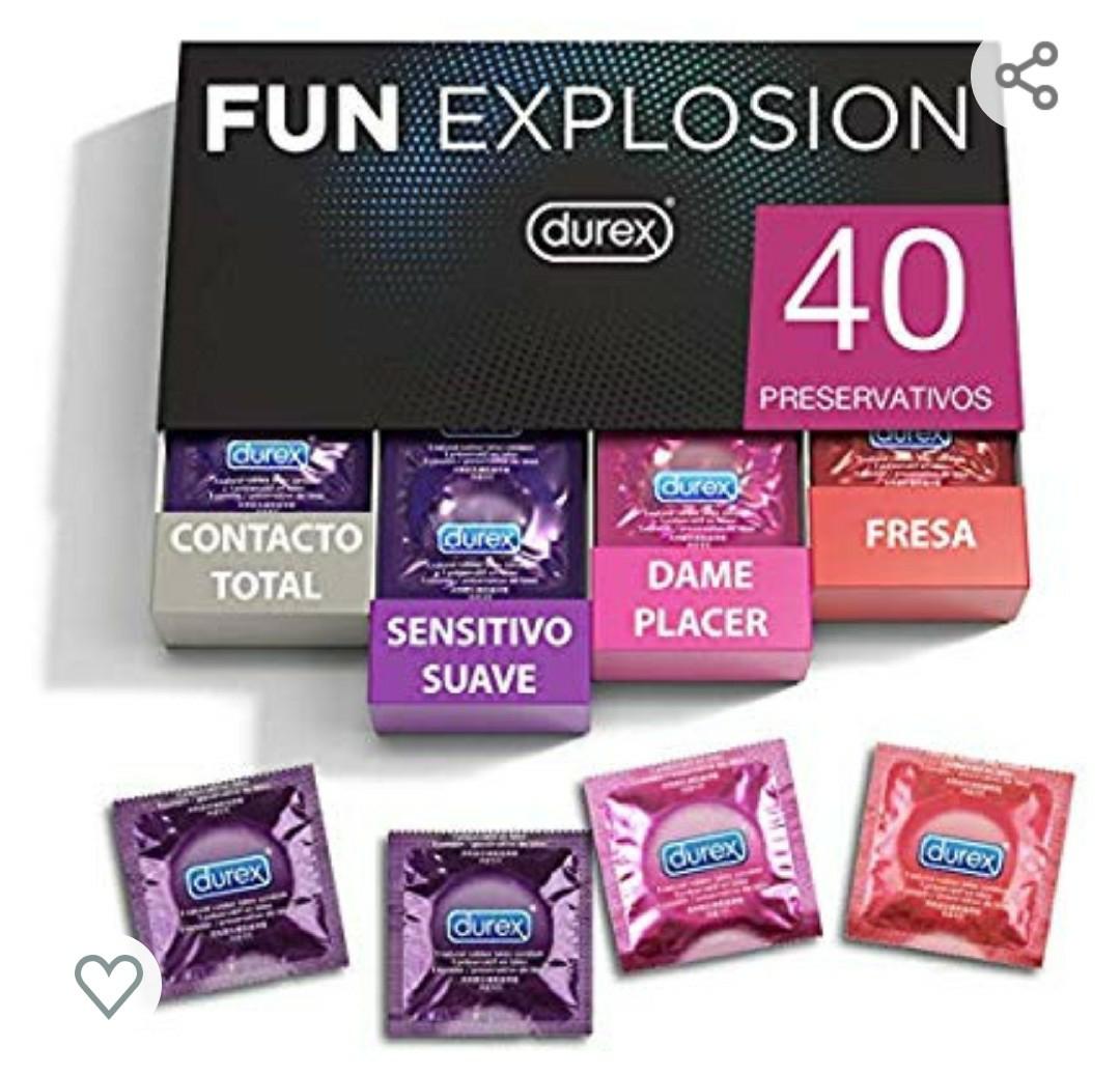Durex preservativos Fun Explosion Mixtos