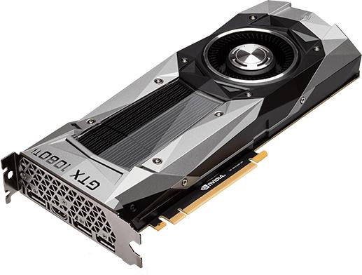 Stock Nvidia Tarjetas graficas GTX10XX