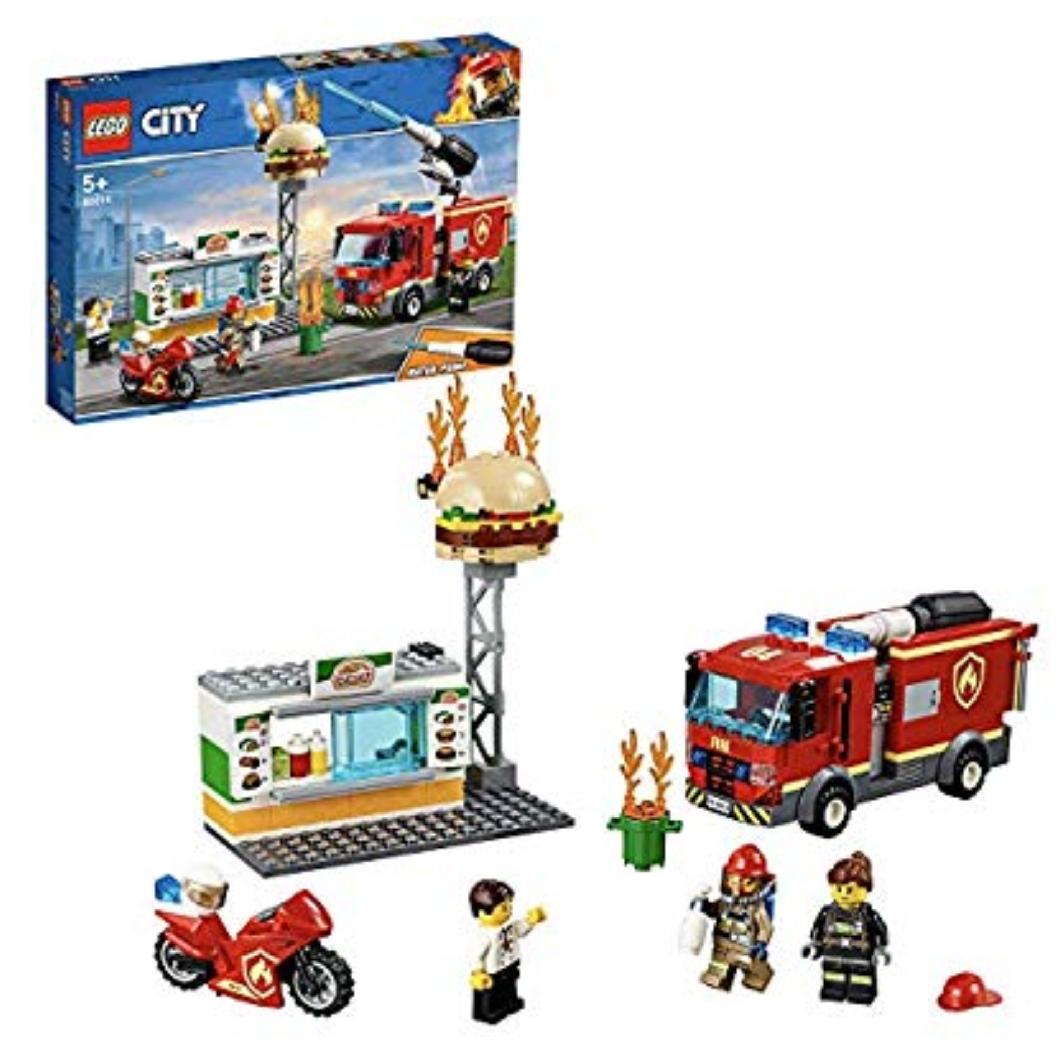 Lego Fire - Bomberos