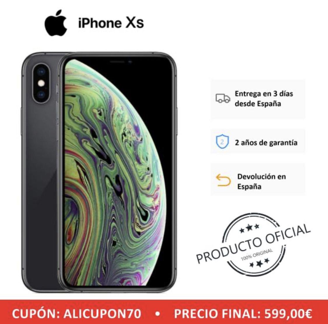 iPhone XS 64Gb [DESDE ESPAÑA]