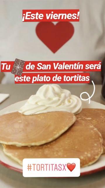 Tortitas gratis en Vips por llevar ropa con corazones