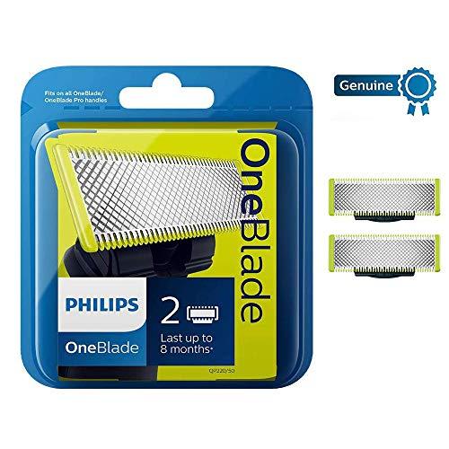 2 cuchillas de recambio para Philips OneBlade