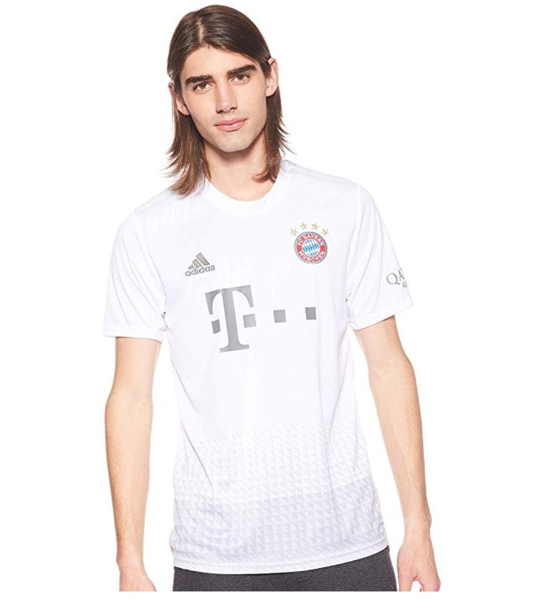 TALLA 3XL - adidas FCB A JSY Camiseta 2ª Equipación Bayern Munich 2017-2018