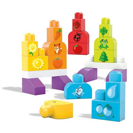 Pack Megablok Blokitos 7 piezas GRATIS