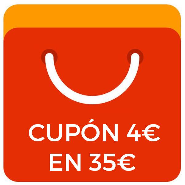 4€ de dto. en compras +35€ en Aliexpress Plaza