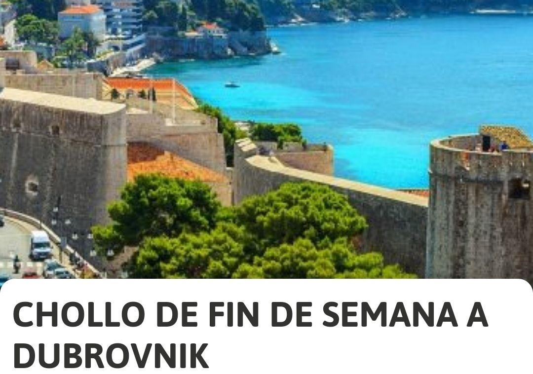 Croacia (Dubrovnik) 3 Noches alojamiento + Vuelos (Barcelona)