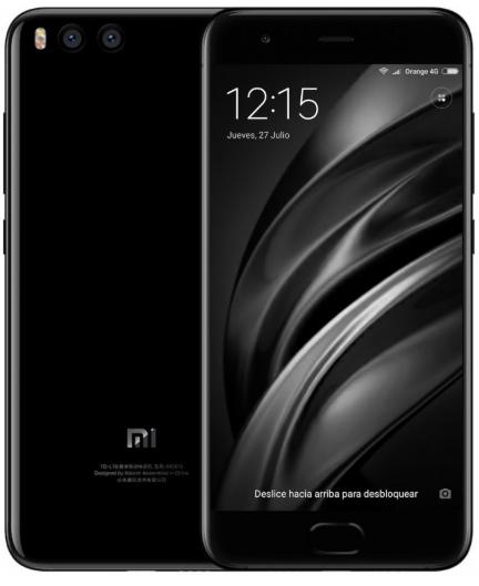 Xiaomi Mi6 64GB Negro Versión Global desde España