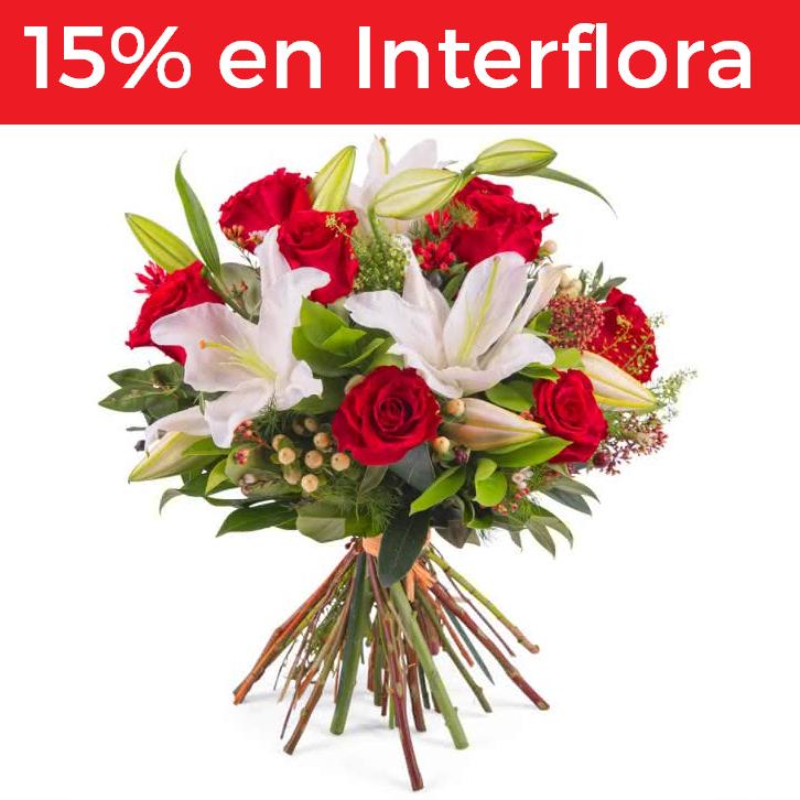 15% descuento en Interflora