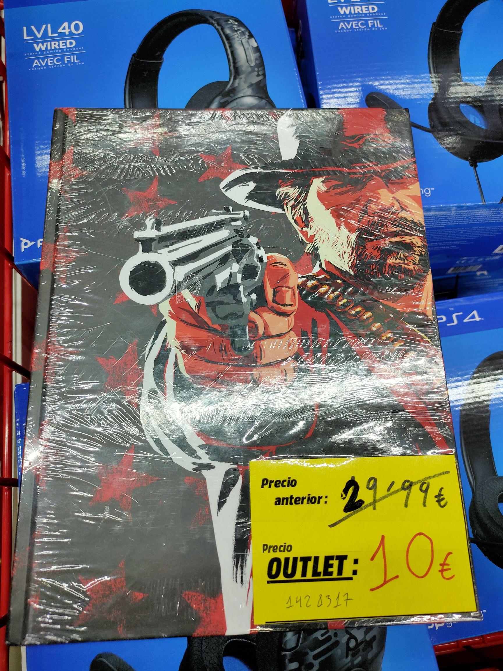 Guía oficial tapa dura Red Dead Redemption 2 (Media Markt Puerto Venecia)