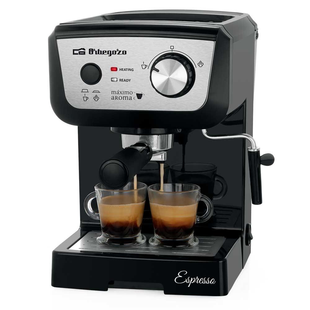 Cafetera Expresso Orbegozo EX 5000 20 Bares de presión