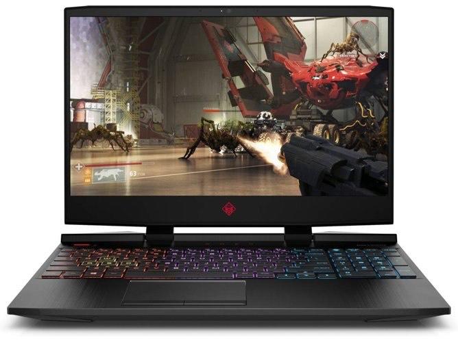 Portátil Gaming HP OMEN 15-DC1039NS (15.6'' - Intel Core i7-9750H - RAM: 8 GB - 1 TB SSD - NVIDIA GeForce GTX 1650)