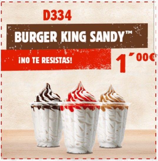 Burguer King Sandy a 1€