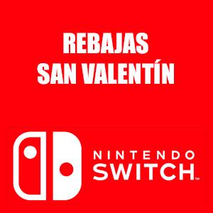 Nintendo Switch :: +500 juegos hasta un 95% descuento (San Valentín)