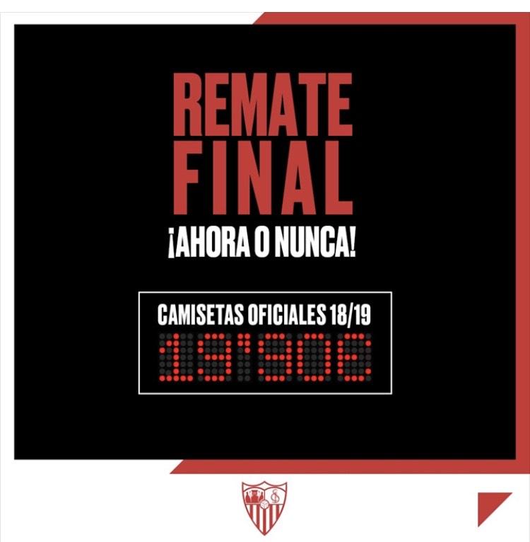 Camiseta Sevilla 18/19