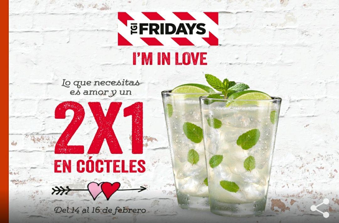 2x1 en Cócteles en San Valentín (Fridays)