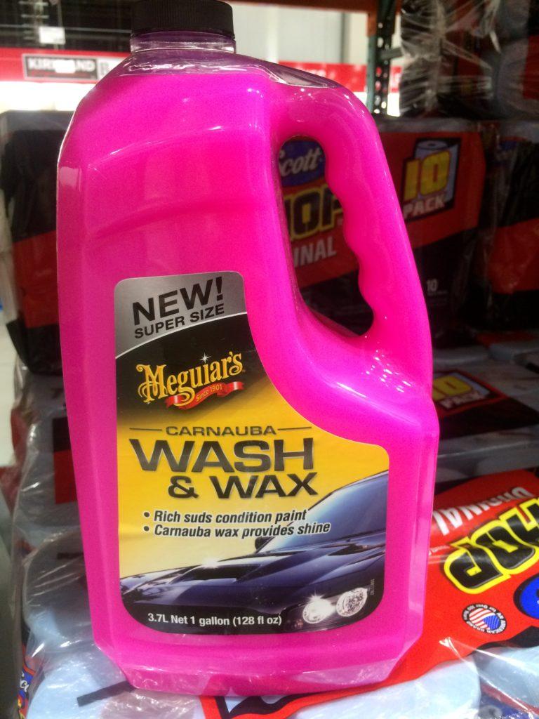 Meguiars Carnauba WASH & WAX 3.7L