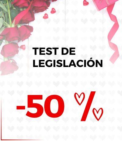 Descuento 50% Test Legislación Opositatest