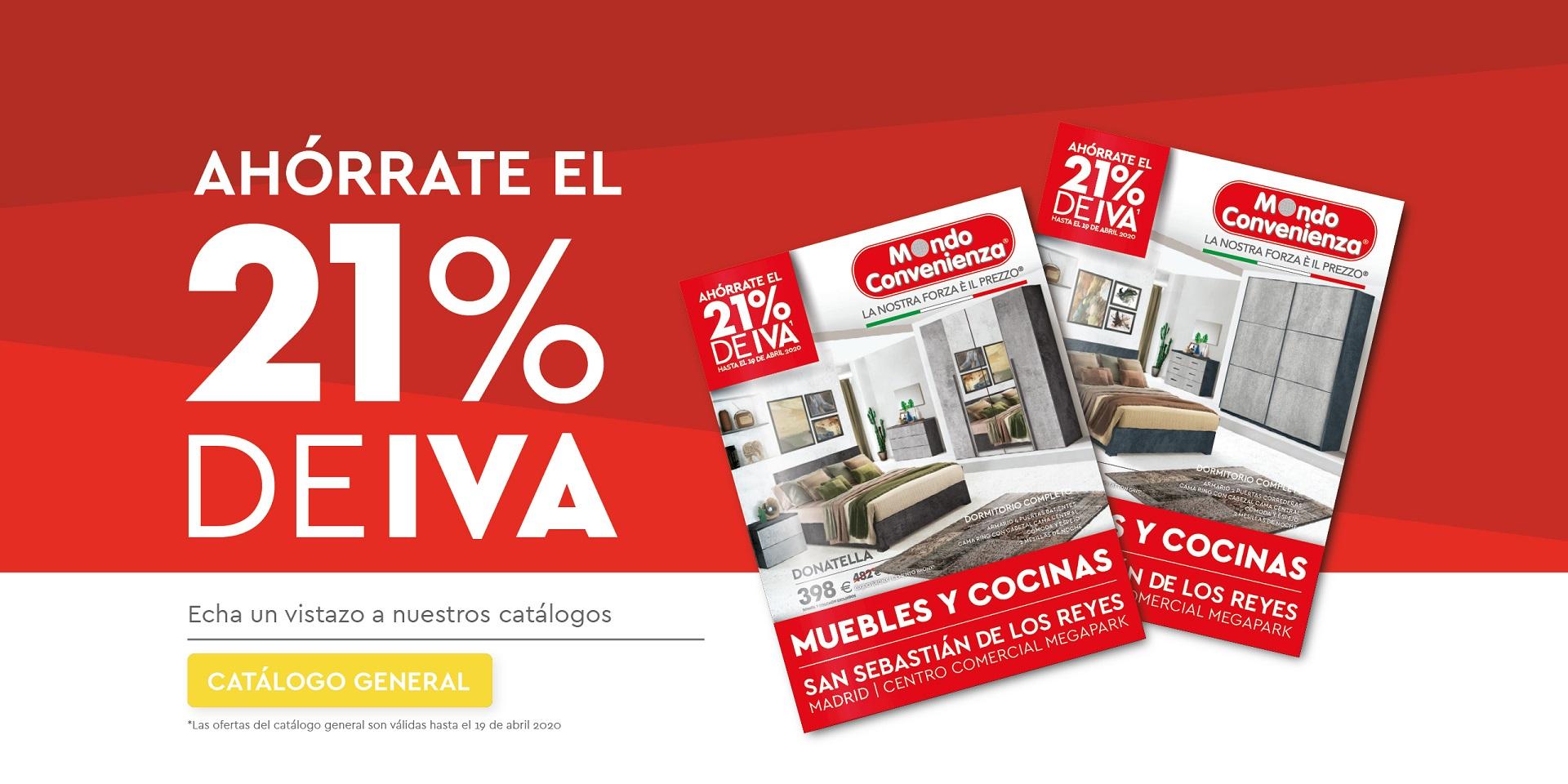 AHORRO DEL 21% DE IVA EN MUEBLES Y COCINAS
