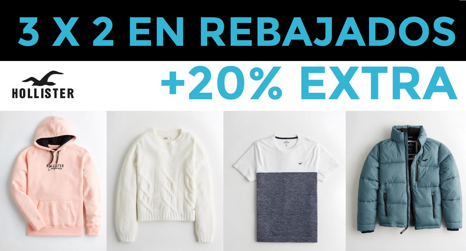 3x2 en artículos rebajados + 20% EXTRA