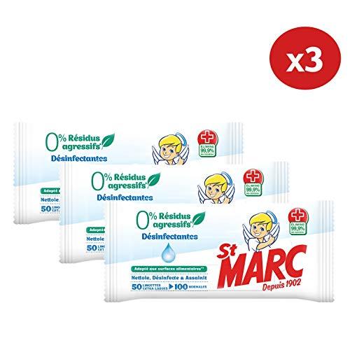 3 lotes toallitas desinfectantes st Marc