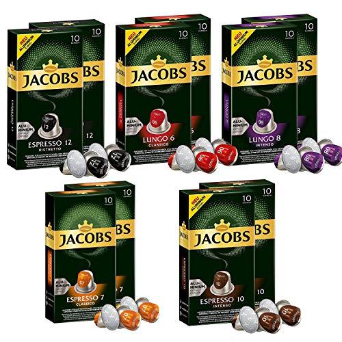 100 Cápsulas compatibles Nespresso Jacobs