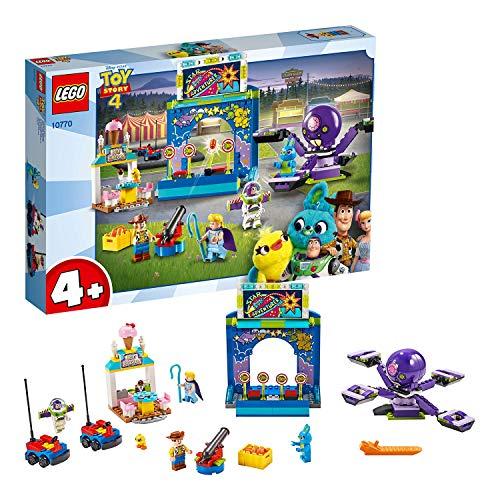 """Set de Lego. """"LEGO 4+ Toy Story 4 - Buzz y Woody: Locos por la Feria"""""""