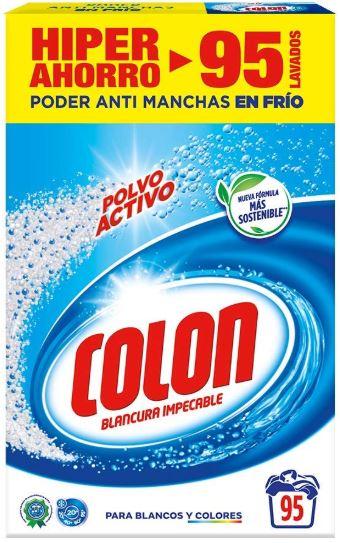 Detergente Colón en polvo a 0,10€/lavado