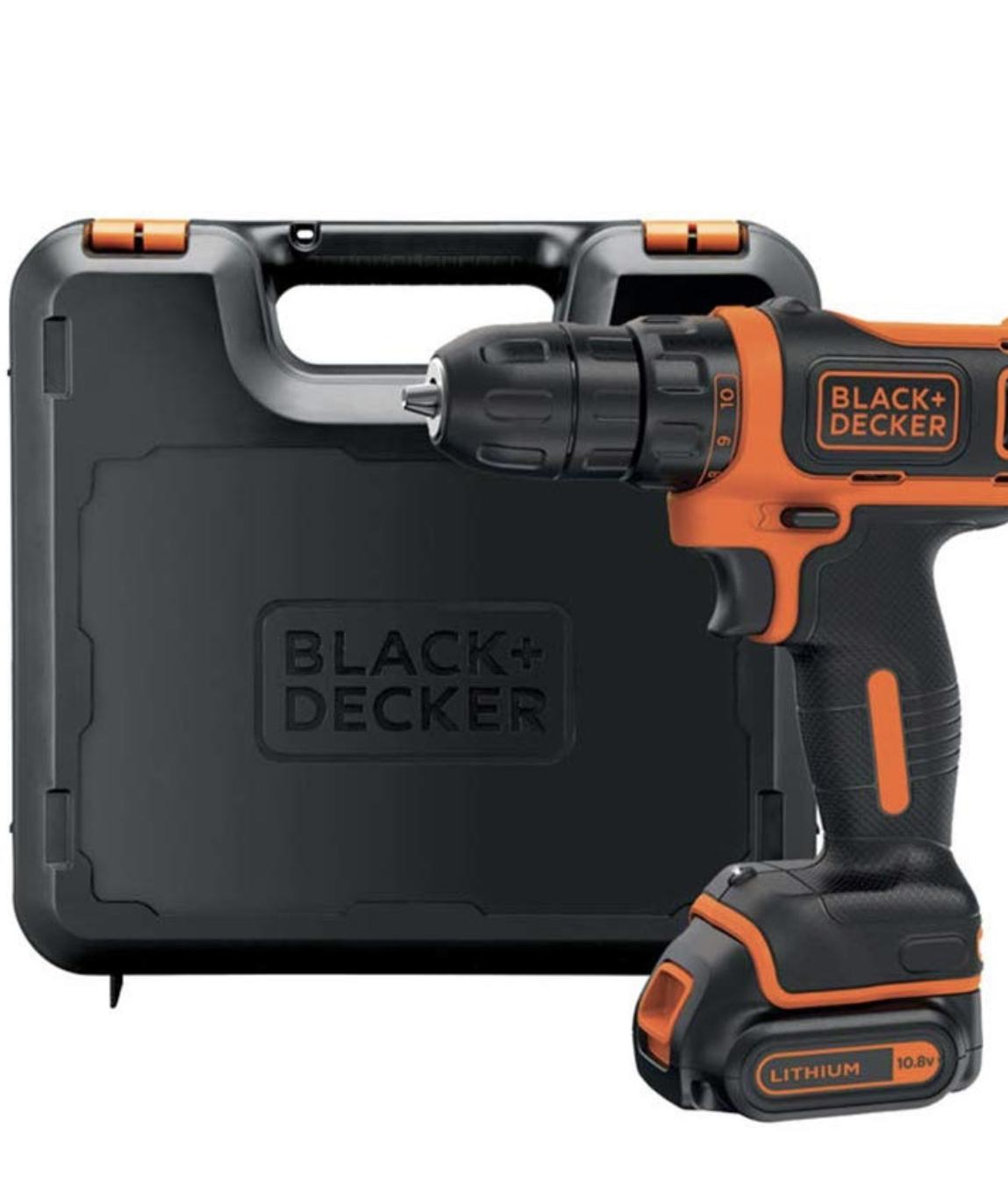 Black+Decker BDCDD12K-QW - Taladro atornillador 10.8 V
