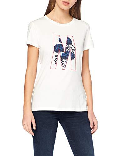 Mustang Shiny Print tee Camiseta para Mujer