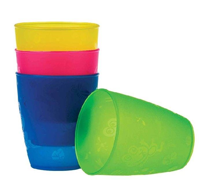 4 vasos infantiles Nuby (300 ml)